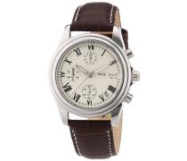 Armbanduhr Chronograph Quarz Leder M2450SSL/1