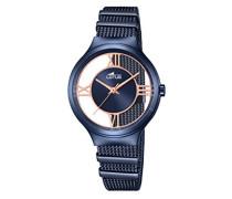 Damen-Armbanduhr Analog Quarz Edelstahl 18334/1