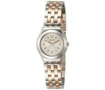 Analog Quarz Uhr mit Edelstahl Armband YSS308G