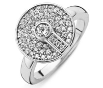 Ring, Silber, Zirkonia, 56 (17.8)