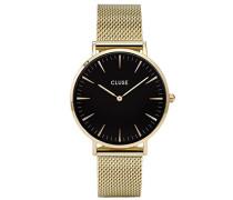 Damen Armbanduhr Analog Quarz Edelstahl CL18110