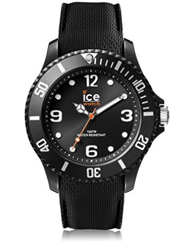 ICE sixty nine Black - Schwarze Herrenuhr mit Silikonarmband - 007277 (Medium)
