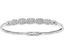 Armband 9 K Weißgold Diamant 0