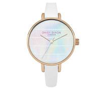 Damen Analog Quarz Uhr mit Leder Armband DD024WRG