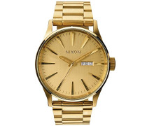 Armbanduhr XL Analog Quarz Edelstahl beschichtet A356502-00