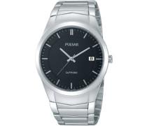 Uhren Armbanduhr XL Modern Analog Quarz Edelstahl PS9133X1