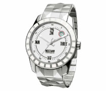 Herren-Armbanduhr Analog Quarz Edelstahl MW0022