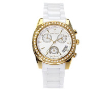 Armbanduhr Analog Quarz Premium Keramik Diamanten - STM15L7
