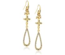 Jewelry Ohrstecker Messing Ohrstecker aus der Serie Big earrings vergoldet