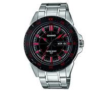 Armbanduhr Analog Quarz Edelstahl MTD-1078D-1A1VEF