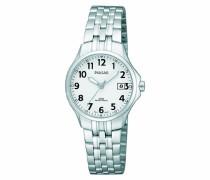 Uhren Armbanduhr XS Klassik Analog Quarz Edelstahl PH7221X1