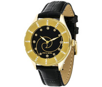 Damen-Armbanduhr L'horizon Analog Quarz Leder