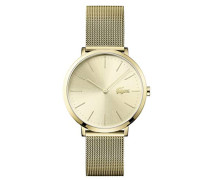 Datum klassisch Quarz Uhr mit Edelstahl Armband 2001000