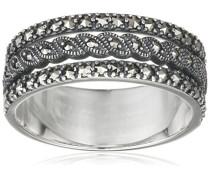 Ring 925 Silber vintage-oxidized Markasit 56 (17.8) - L0008R/90/B3/56