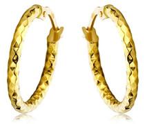 Ohrringe Damen Gelbgold 18 Karat/750 Gold Creolen