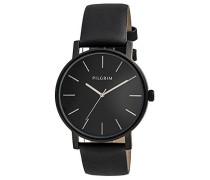Damen-Armbanduhr Analog Quarz Leder 701443103