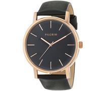 Damen-Armbanduhr Analog Quarz Leder 701444103