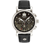 Bruno Söhnle Armbanduhr Armida Chronograph Quarz Leder 17-13115-751