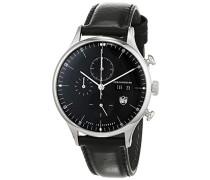 Erwachsene Analog Quarz Uhr mit Leder Armband DF-9021-01