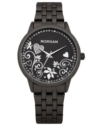 Damen-Armbanduhr Analog Quarz Schwarz M1130BM