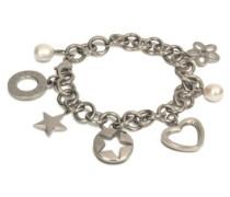 Damen-Armband Titan Sat Mit 7 Charms 0377-02