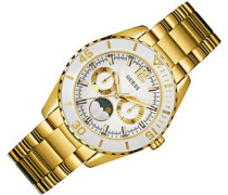 Damen-Armbanduhr Analog Quarz Edelstahl W0565l2