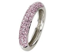 Ring silber/violett DE 56