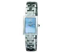 Sekonda Quarz-Armbanduhr für Damen, Analogdisplay, Edelstahl/Perlmutt