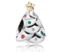 Silber Charm Weihnachtsbaum 791999CZRMX
