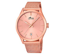Herren-Armbanduhr Analog Quarz Leder 18110/1