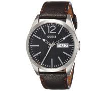 Armbanduhr Mens Trend Analog Quarz Leder W0658G3