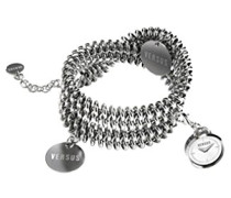 – 3 C7370 – Soft Armbanduhr 045J699 Analog weiß Armband Stahl Grau