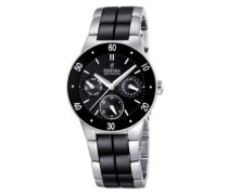 Armbanduhr XS Trend Ceramic Multifunktion Chronograph Keramik F16530/2