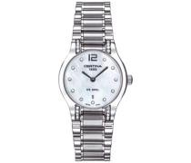 Armbanduhr XS Analog Quarz Edelstahl C012.209.61.116.00