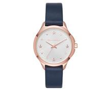 Damen Analog Quarz Uhr mit Leder Armband KL3013