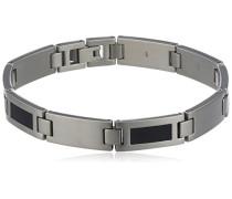 Armband Titan Kaltemail/Schw Pol/Sat 0333-02