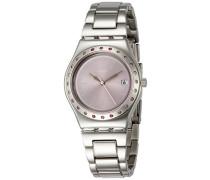 Analog Quarz Uhr mit Edelstahl Armband YLS455G