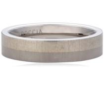 Damen-Ring Titan silber