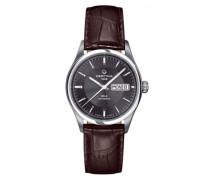 Armbanduhr XL Analog Automatik Leder C022.430.16.081.00