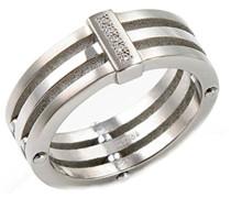 Damen-Ring Titan 5 Brillianten 0,025