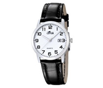 Herren-Armbanduhr Analog Quarz Leder 18240/1