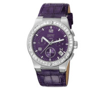 Collection Armbanduhr EL101822F04 – Quarz – Chronograph – Armband Leder