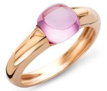 Ring 9 Karat (375) Gelbgold Rosa Quartz 3.0ct Größe 52 MNA9071R2