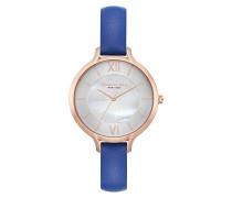 Analog Quarz Uhr mit Leder Armband KC15187007