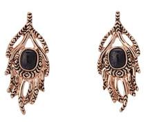 1960 – Ohrringe aus Metall mit Schmetterling-Druckverschluss