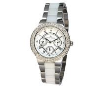 Armbanduhr Analog Quarz Premium Keramik Diamanten - STM15S1