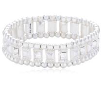 Jewelry Armband Messing Armband aus der Serie Classic versilbert