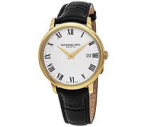 Analog Quarz Uhr mit Leder Armband 5488-PC-00300