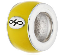 Bead Yellow Enamel 925 Silber Emaille - 42100-13