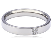 Damen-Ring Titan 9 Brillianten 0,045